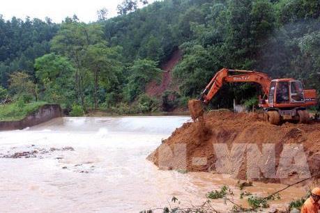 Rãnh áp thấp gây mưa, vùng núi phía Bắc đề phòng lũ ống, lũ quét và sạt lở đất