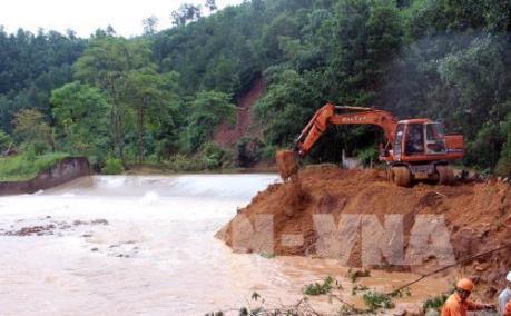 Thiệt hại đường bộ do mưa lũ tại các tỉnh miền núi phía Bắc