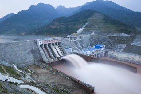 Hồ thủy điện Lai Châu sẽ vận hành xả lũ