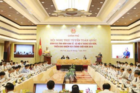 Hội nghị trực tuyến Chính phủ với các địa phương: Đề xuất những giải pháp tháo gỡ khó khăn