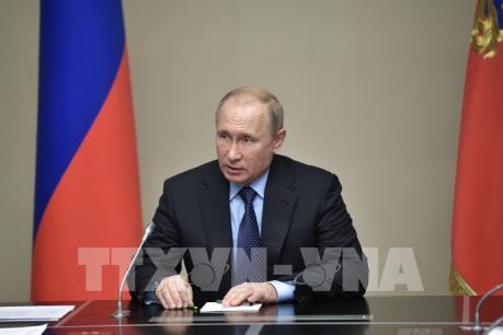 WORLD CUP 2018: Tổng thống Nga sẽ gặp Chủ tịch IOC tại trận Chung kết