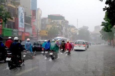 Đợt mưa lớn ở các tỉnh Bắc bộ từ ngày 7 - 9/7 và có thể kéo dài nhiều ngày
