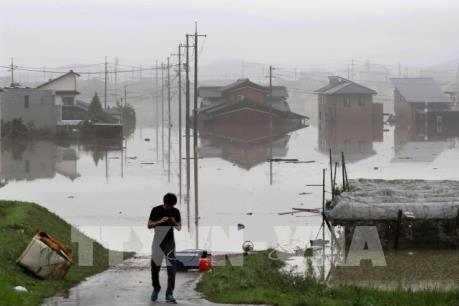 Số người thiệt mạng do mưa lũ tiếp tục tăng tại Nhật Bản
