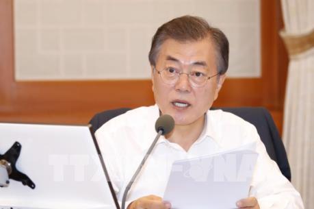 Tổng thống Hàn Quốc kêu gọi thúc đẩy tự do thương mại