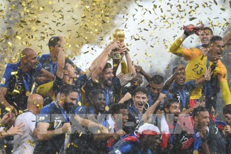 Đội tuyển Pháp lên ngôi vô địch World Cup 2018