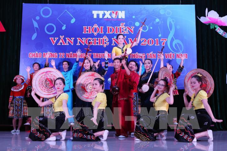 Tưng bừng hội diễn văn nghệ Thông tấn xã Việt Nam 2017 - hình 0
