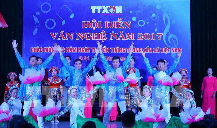 Tưng bừng hội diễn văn nghệ Thông tấn xã Việt Nam 2017 - hình 3