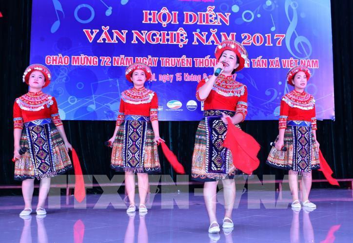 Tưng bừng hội diễn văn nghệ Thông tấn xã Việt Nam 2017 - hình 21
