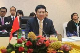 Việt Nam dự Hội nghị Bộ trưởng Hạ nguồn Mê Công-Mỹ