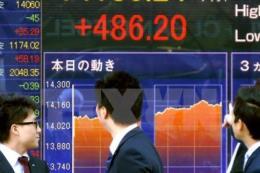 Thị trường chứng khoán châu Á đi xuống phiên đầu tuần