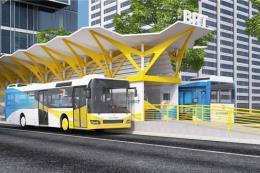 Hà Nội: Xe buýt nhanh sẽ chính thức vận hành vào cuối năm nay