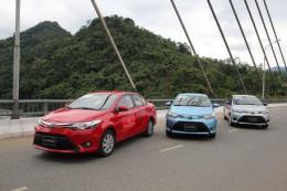 Xe nhập khẩu của Toyota Việt Nam tăng trưởng hơn xe lắp ráp trong nước
