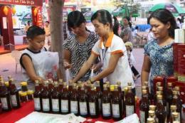 Khai mạc Hội chợ triển lãm Tôn vinh hàng Việt năm 2017