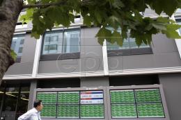 """Chỉ số Nikkei 225 chạm mức """"đỉnh"""" của sáu tháng"""