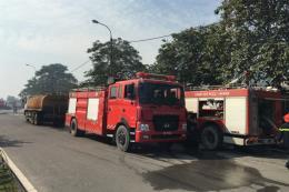 Bình Phước: Cháy nhà máy chế biến mủ cao su gây thiệt hại nhiều tỷ đồng