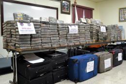 Peru thu giữ 1,2 tấn cocain tại khu vực trồng cây coca lớn nhất nước