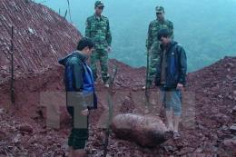 Quảng Bình: Di dời an toàn quả bom trên công trình đang thi công