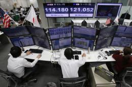Căng thẳng thương mại Mỹ- Trung, chứng khoán châu Á đổ dốc
