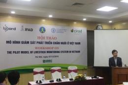 Cần có hệ thống giám sát chăn nuôi tại Việt Nam