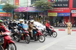 Bảo đảm trật tự an toàn giao thông cho các kỳ thi