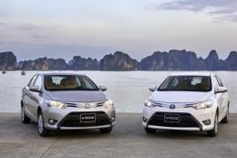 Toyota Việt Nam thông báo thu hồi kiểm tra ở hai mẫu xe Vios và Yaris