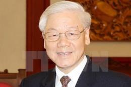 Tổng Bí thư Nguyễn Phú Trọng thăm Trung tâm Nghiên cứu Chiến lược và Quốc tế Indonesia