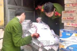 Bắt vụ vận chuyển thuốc lá lậu quy mô lớn
