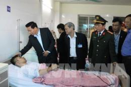 Vụ nổ xe khách tại Bắc Ninh: Miễn phí viện phí cho các nạn nhân