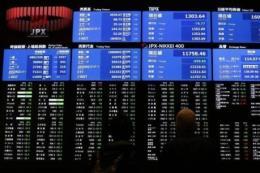Chứng khoán châu Á tăng giảm trái chiều
