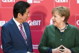 Nhật Bản - Đức cam kết bảo vệ chính sách thương mại tự do