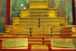 Giá vàng hôm nay chạm mức đỉnh của 3 tuần