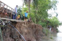 Sạt lở ở Đồng bằng sông Cửu Long: Bài 1- Nguy cơ sạt lở nghiêm trọng gia tăng