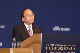 Hội nghị Tương lai châu Á 2017: Tìm giải pháp phát triển bền vững