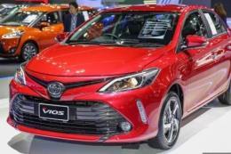 Mẫu Vios của Toyota có sức tiêu thụ tăng gấp 3,5 lần trong tháng 6