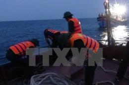 Tin mới về 3 thuyền viên mất tích trong vụ sà lan bị chìm tại Bạch Long Vỹ
