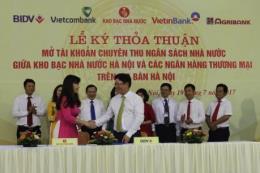 BIDV và Kho bạc Nhà nước ký kết Thỏa thuận phối hợp thu Ngân sách Nhà nước