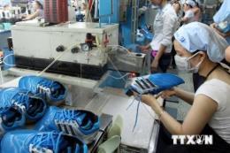 Bắt quả tang cơ sở nghi sản xuất số lượng lớn giày giả thương hiệu nổi tiếng