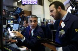 Thị trường chứng khoán Âu - Mỹ giao dịch
