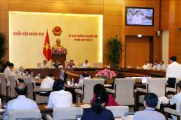 Phiên họp thứ 13, UBTVQH khóa XIV: Hai phương án về thành lập lực lượng kiểm ngư