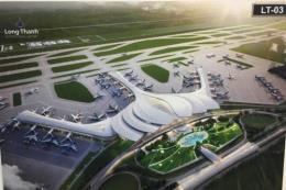 Tạm ngừng cấp phép xây dựng khu dân cư để quy hoạch vùng phụ cận sân bay Long Thành