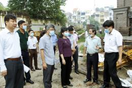 Bộ trưởng Bộ Y tế kiểm tra công tác phòng chống dịch sốt xuất huyết tại Hà Nội