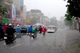 Dự báo thời tiết ba ngày tới: Mưa to ở Bắc Bộ do ảnh hưởng  bão số 6