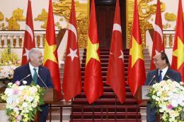 Thủ tướng Nguyễn Xuân Phúc hội đàm với Thủ tướng Thổ Nhĩ Kỳ Binali Yildirim