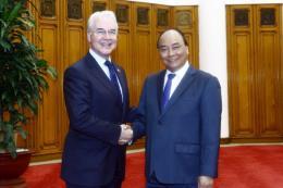 Thủ tướng Nguyễn Xuân Phúc tiếp Bộ trưởng Y tế và Phúc lợi con người Hoa Kỳ