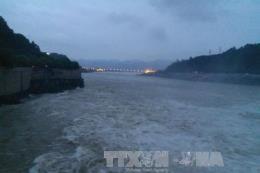Lũ trên sông Thao tại Yên Bái tiếp tục lên, nguy cơ lũ quét, sạt lở đất vùng núi phía Bắc