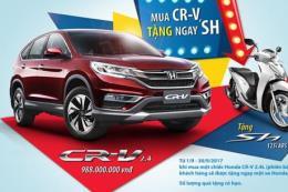 Bảng giá xe ô tô Honda tháng 9/2017 tại Việt Nam cùng ưu đãi