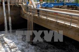 Dự án nhà máy xử lý nước thải Cần Thơ phải hoàn thành trước tháng 3/2018
