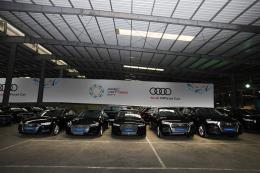 Audi Việt Nam bàn giao 258 xe cho APEC 2017