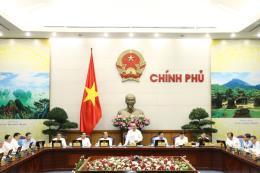 Nghị quyết phiên họp Chính phủ thường kỳ tháng 8