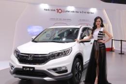 Sau giảm giá, Honda CR-V xếp thứ 2 trong Top 10 ô tô tiêu thụ mạnh nhất